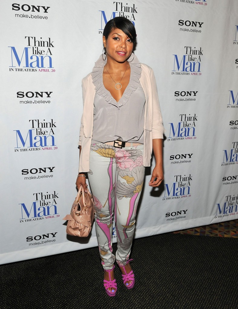TARAJI P. HENSON at Premiere of Think Like A Man