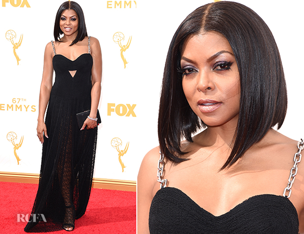 Taraji-P.-Henson-In-Alexander-Wang-2015-Emmy-Awards