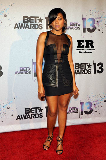 LOS ANGELES, CA - JUNE 30: Taraji P. Henson at the 2013 BET Awards at Nokia Theatre L.A. Live on June 30, 2013 in Los Angeles, California. Credit: MediaPunch Inc.