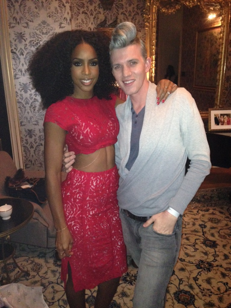 Gert-Johan and Kelly Rowland