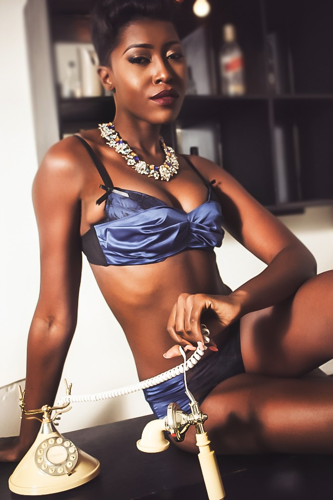 Vimbai Mutinhiri in  Denaki Lingerie for ZAZAII's #InfluencerSeries (3)