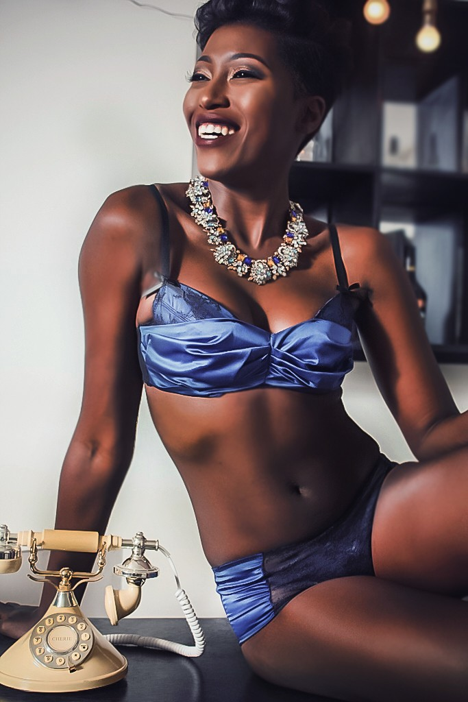Vimbai Mutinhiri in  Denaki Lingerie for ZAZAII's #InfluencerSeries (4)