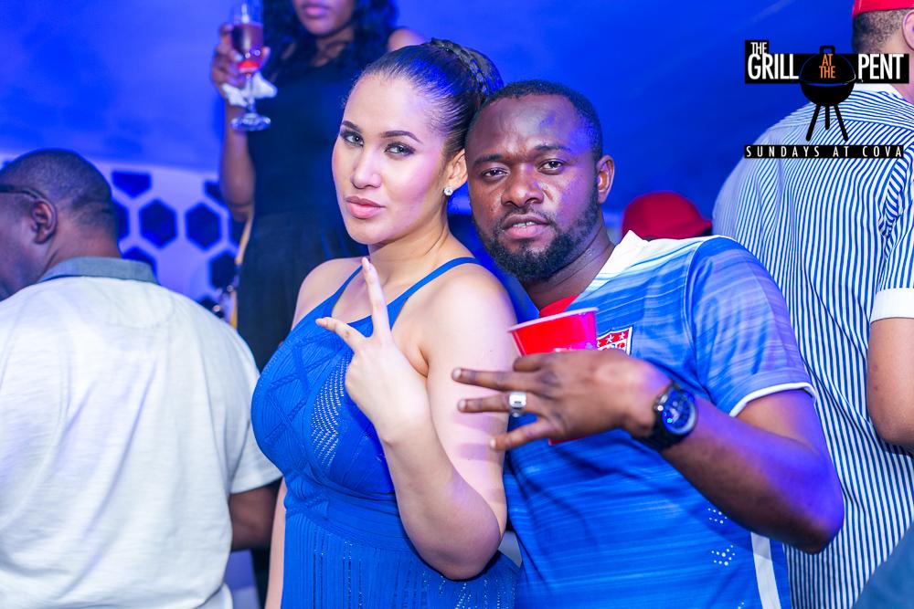 Caroline Danjuma and friend