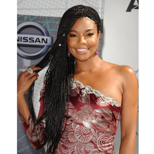 LOS ANGELES, CA - JUNE 26:  Actress Gabrielle Union attends the 2016 BET Awards at Microsoft Theater on June 26, 2016 in Los Angeles, California.  (Photo by Jason LaVeris/FilmMagic)