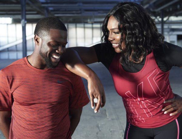 Serena-Williams-Kevin-Hart-Nike-Work