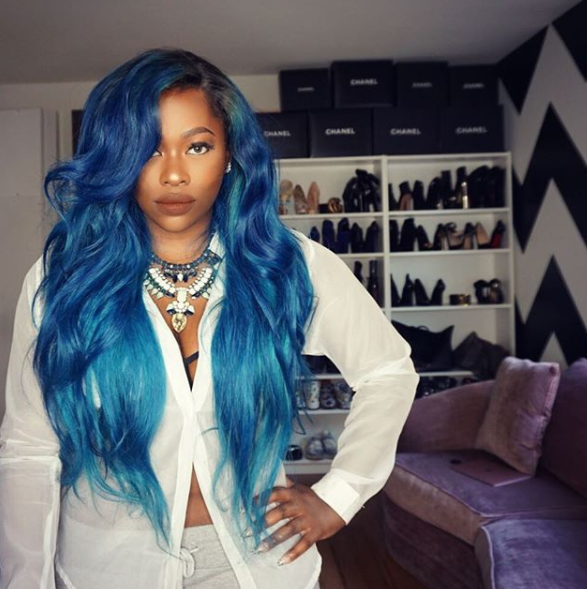 This Celebrity Stylist Is The Reason We Ll Be Dying Our Hair Blue
