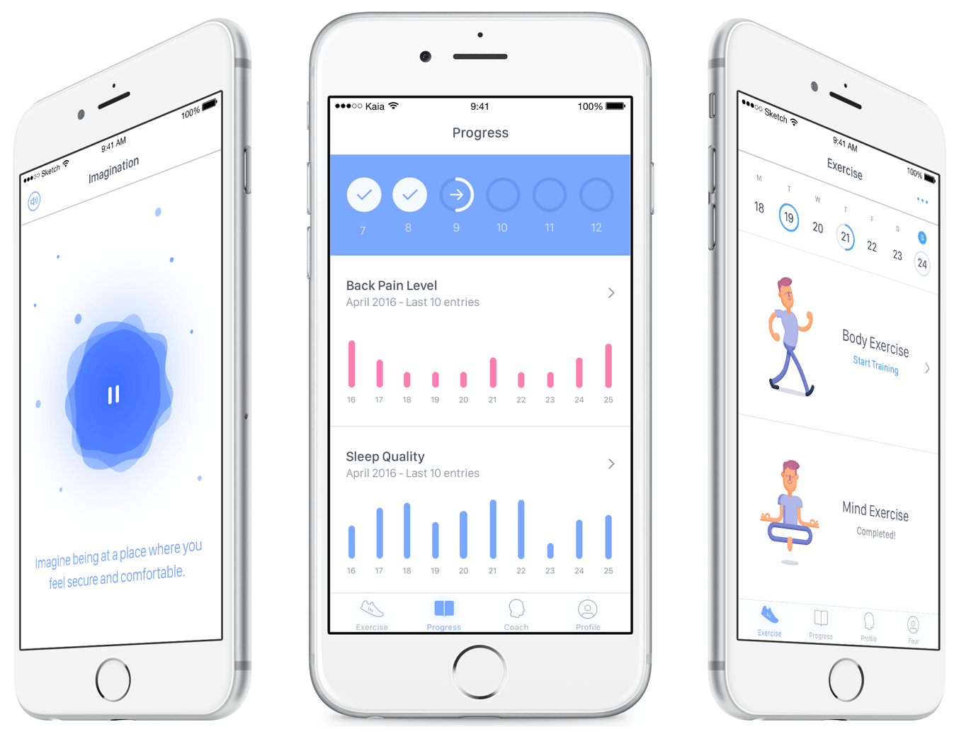 Tracking Fitness App