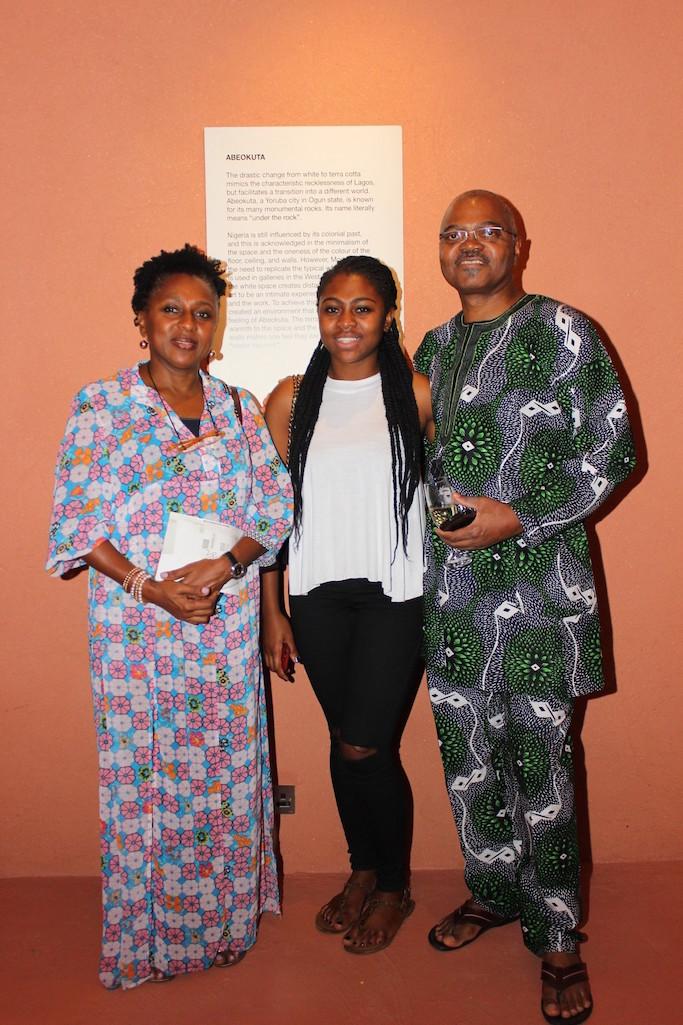 Dr & Mrs Shonibare