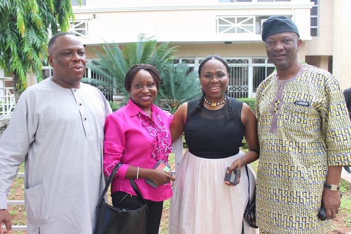 Mr Gbolade Osibodu, Mrs Agbaje, Mrs Olufunlola Aderinokun & Mr. Jimi Agbaje