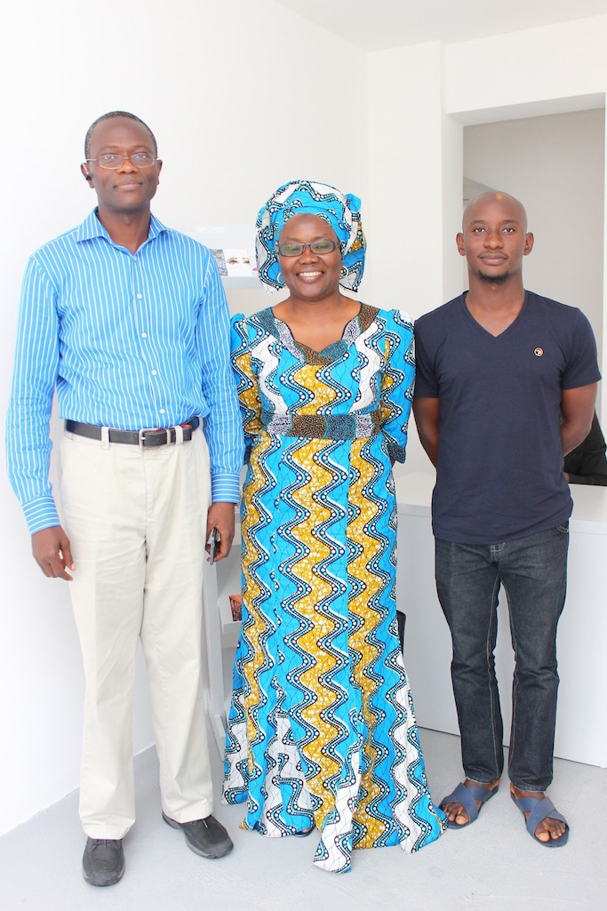 Mr. Papai Agusto, Ms Rakiya Zubairu & son