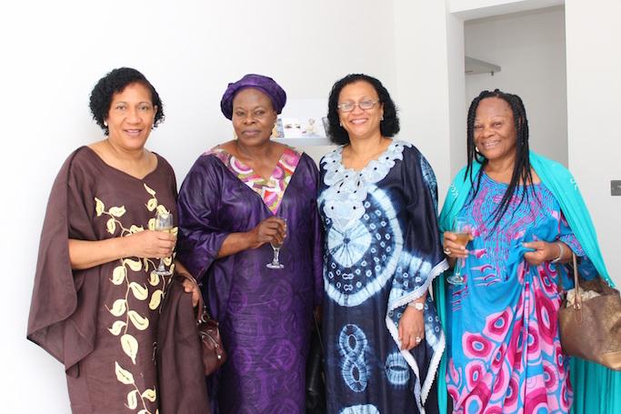 Ms Mudafiat Brown, Alhaja Hassan, Ms Harriet Agusto & Friend