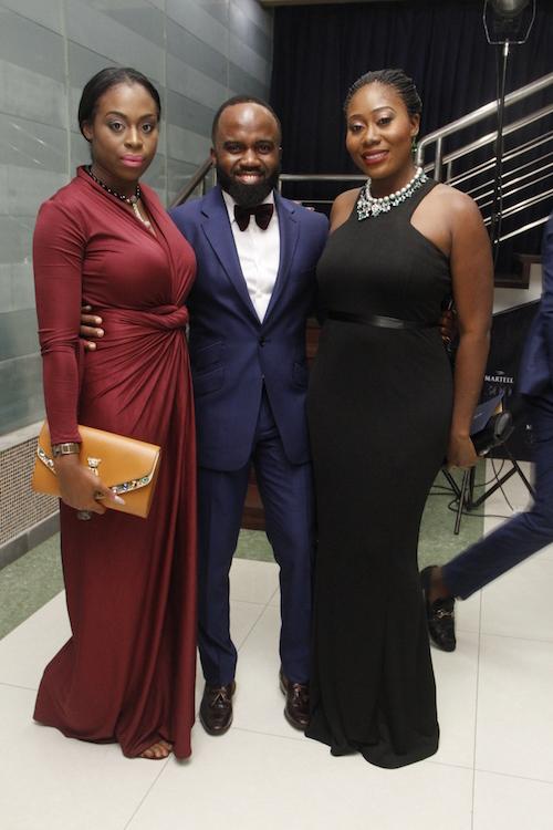 Zina Anumudu, Noble Igwe and Gbemi