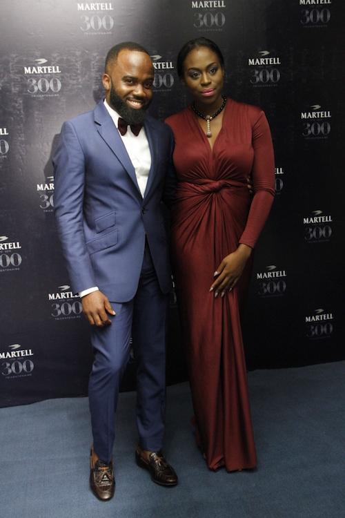 Zina Anumudu and Noble Igwe