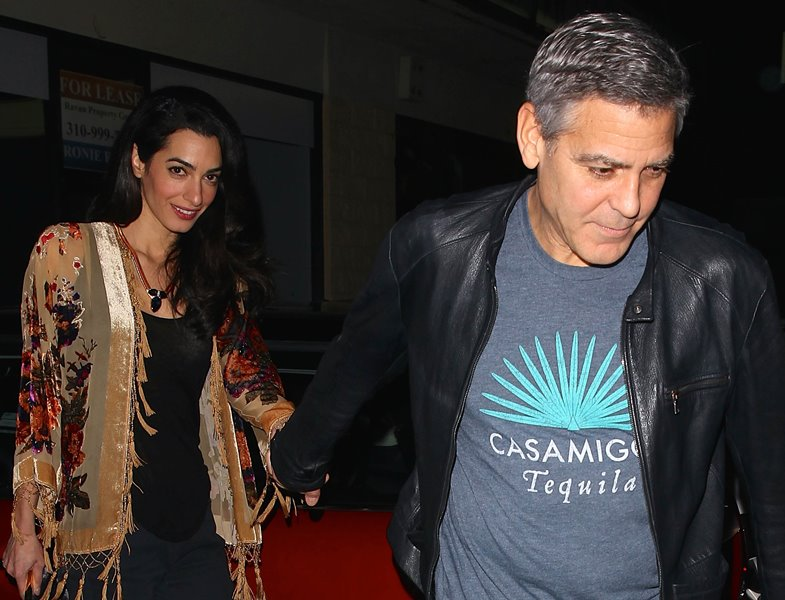 George Clooney and wife Amal step out for another sushi dinner date - Part 2