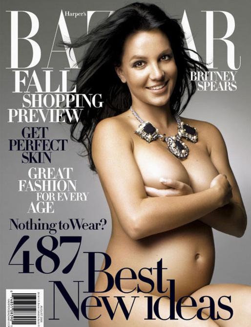 Britney Spears - Femmes enceinte qui ont fait la couverture de magazines Americain Womens on US magazines covers.