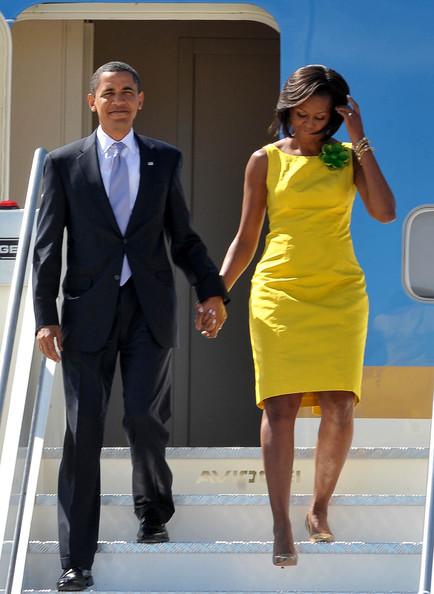 Michelle+Obama+President+Obama+Family+Arriving+kTNSuMdF9fql