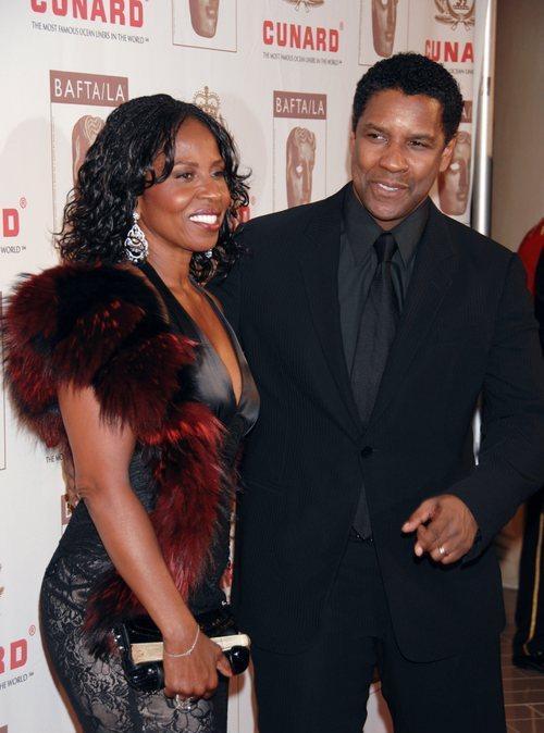 Denzel Washington and his wife Pauletta Washington 6th Annual BAFTA/LA Cunard Britannia Awards - arrivals held at the Hyatt Regency Century Plaza Los Angeles, California - 01.11.07 Credit: (Mandatory): Dimitri Halkidis / WENN
