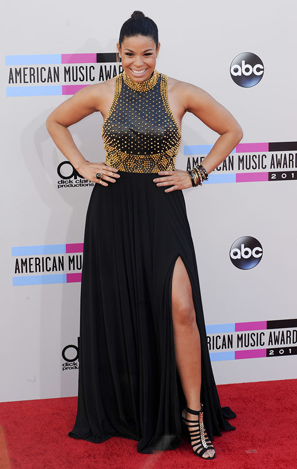 The 2013 American Music Awards Arrivals Featuring: Jordin Spark Where: Los Angeles, California, United States When: 24 Nov 2013 Credit: Apega/WENN.com