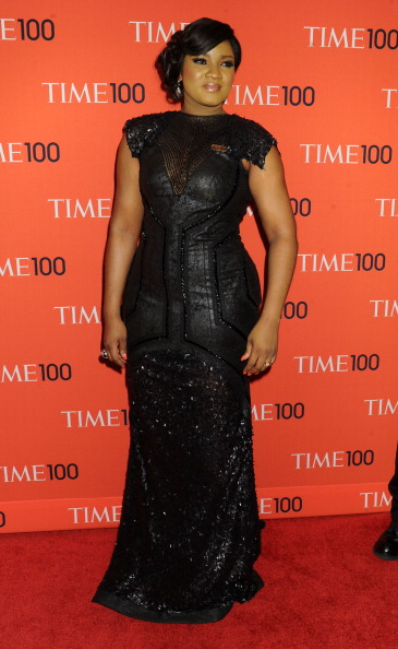 NEW YORK, NY - APRIL 23: Nigerian singer Omotola Jalade-Ekeinde attends the 2013 Time 100 Gala at Frederick P. Rose Hall, Jazz at Lincoln Center on April 23, 2013 in New York City. (Photo by Jennifer Graylock/Getty Images)
