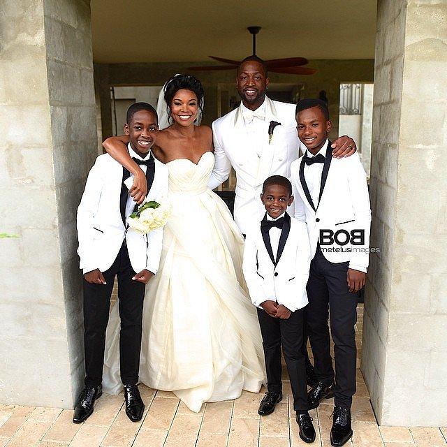 Gabrielle-Dwyane-gathered-his-boys-Zaire-Zion-Dahveon