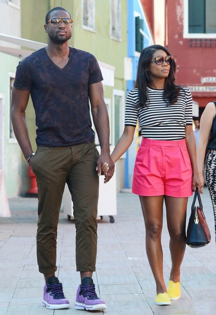 Gabrielle-Union-Dwyane-Wade-Sightseeing-in-Venice-Italy