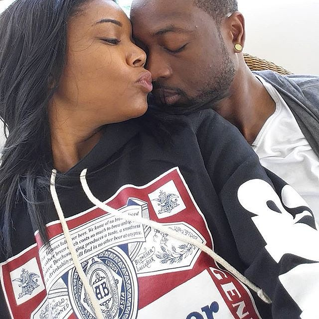 Gabrielle-gave-Dwyane-sweet-kiss