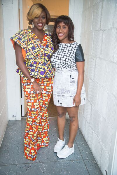 Waje and Emerald ready for the show