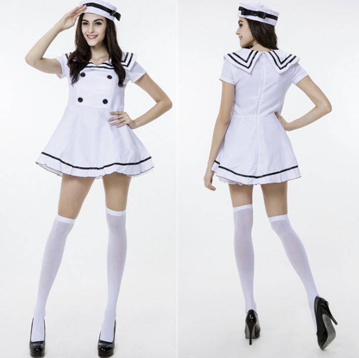Sexy-Sailor-Costume-Adult-Women-Halloween-font-b-White-b-font-Fancy-Dress-font-b-Navy
