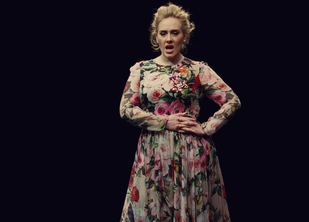 Adele-Dolce-Gabbana-Gown-Send-My-Love-Video (1)