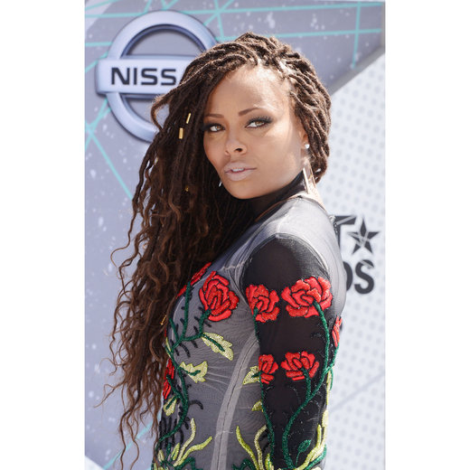 LOS ANGELES, CA - JUNE 26: Actress Eva Marcille attends the 2016 BET Awards at Microsoft Theater on June 26, 2016 in Los Angeles, California. (Photo by C Flanigan/Getty Images)