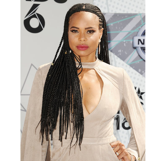 LOS ANGELES, CA - JUNE 26: LaTina Webb attends the 2016 BET Awards at Microsoft Theater on June 26, 2016 in Los Angeles, California. (Photo by Jason LaVeris/FilmMagic)