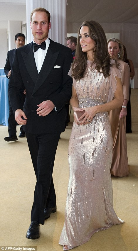 Kate Middleton In 2011 Wearing the outfit