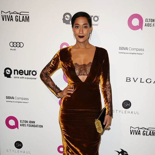 WEST HOLLYWOOD, CA - FEBRUARY 28: Actress Tracee Ellis Ross attends the 24th annual Elton John AIDS Foundation's Oscar viewing party on February 28, 2016 in West Hollywood, California. (Photo by Jason LaVeris/Getty Images)