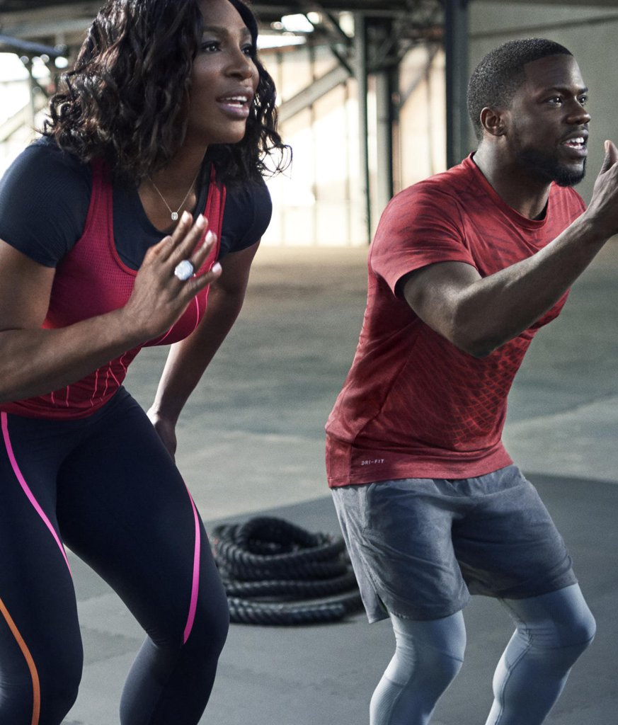 Serena-Williams-Kevin-Hart-Nike-Worko