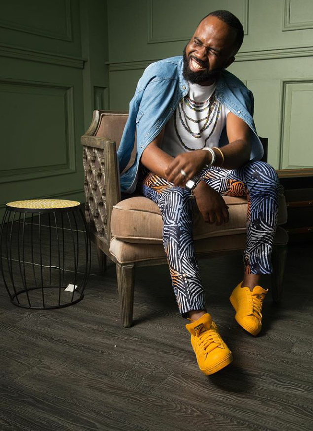 It's safe to say fashion is what keeps Noble Igwe excited