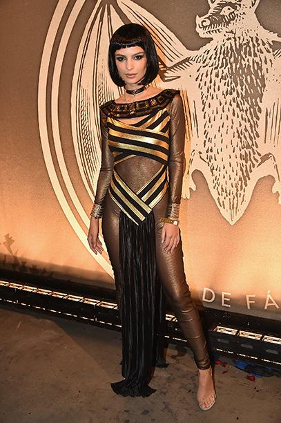 Emily Ratajkowski as Egyptian queen, Cleopatra