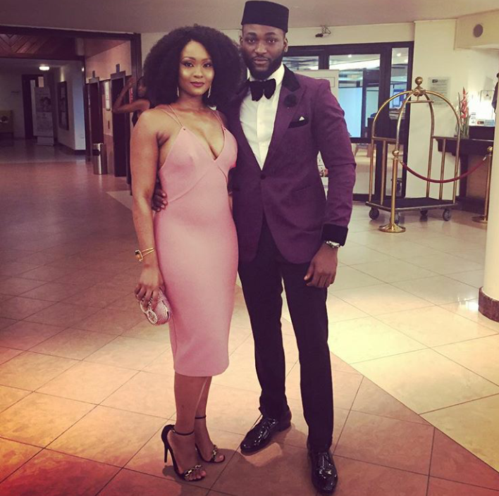 Stylish couple, Osas and Gbenro Ajibade blessed the event with their graceful presence...