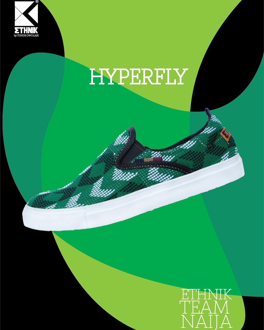 Tunde Owolabi #TeamNaija Sneaker Collection
