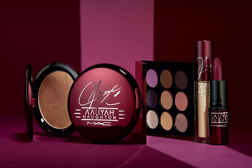 MAC x Aaliyah Make-up