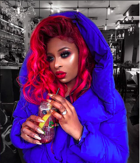 Bright Hair Colour for Black Girls