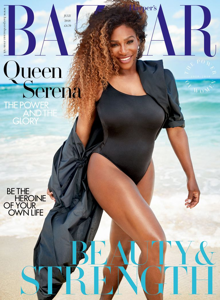 Serena on Beauty, Fashion and body Confidence