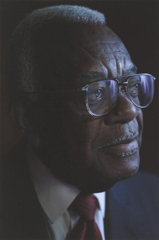 Sir Trevor McDonald by Simon Frederick